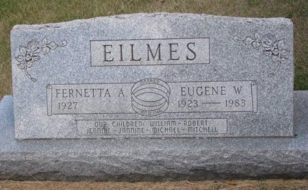 EILMES, EUGENE W. - Turner County, South Dakota | EUGENE W. EILMES - South Dakota Gravestone Photos