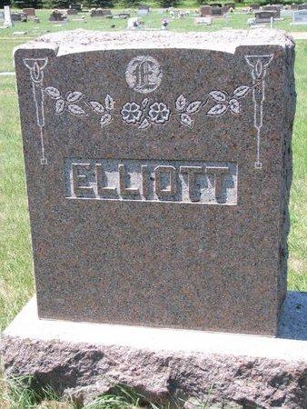 ELLIOTT, *FAMILY MONUMENT - Turner County, South Dakota | *FAMILY MONUMENT ELLIOTT - South Dakota Gravestone Photos