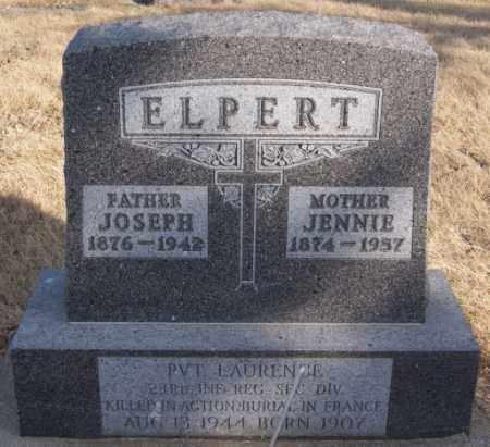 ELPERT, JOSEPH - Turner County, South Dakota   JOSEPH ELPERT - South Dakota Gravestone Photos