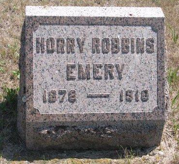 EMERY, HORRY ROBBINS - Turner County, South Dakota | HORRY ROBBINS EMERY - South Dakota Gravestone Photos
