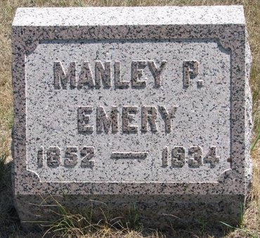 EMERY, MANLEY P. - Turner County, South Dakota | MANLEY P. EMERY - South Dakota Gravestone Photos