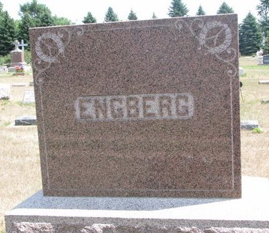 ENGBERG, *FAMILY MONUMENT - Turner County, South Dakota | *FAMILY MONUMENT ENGBERG - South Dakota Gravestone Photos