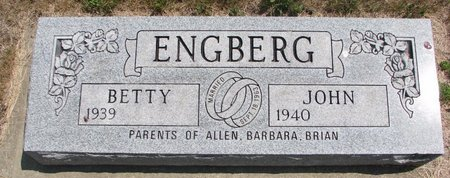 ENGBERG, JOHN - Turner County, South Dakota | JOHN ENGBERG - South Dakota Gravestone Photos