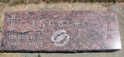 ENGBERG, JANICE M. - Turner County, South Dakota | JANICE M. ENGBERG - South Dakota Gravestone Photos