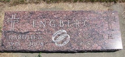 ENGBERG, HAROLD V. - Turner County, South Dakota | HAROLD V. ENGBERG - South Dakota Gravestone Photos