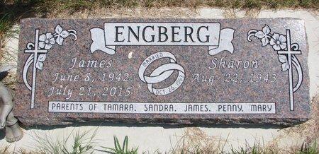 ENGBERG, JAMES - Turner County, South Dakota | JAMES ENGBERG - South Dakota Gravestone Photos