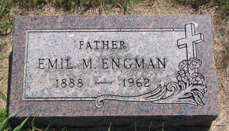 ENGMAN, EMIL M. - Turner County, South Dakota | EMIL M. ENGMAN - South Dakota Gravestone Photos