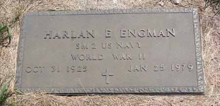 ENGMAN, HARLAN E. - Turner County, South Dakota   HARLAN E. ENGMAN - South Dakota Gravestone Photos