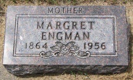 ENGMAN, MARGRET - Turner County, South Dakota   MARGRET ENGMAN - South Dakota Gravestone Photos