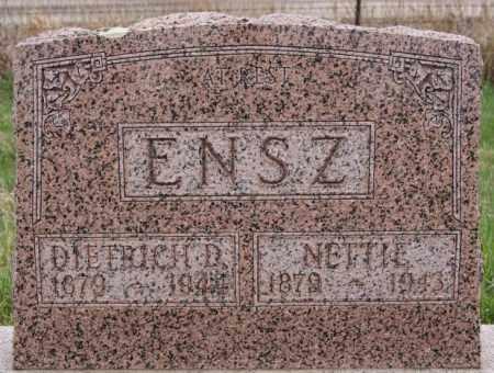 ENSZ, NETTIE - Turner County, South Dakota   NETTIE ENSZ - South Dakota Gravestone Photos