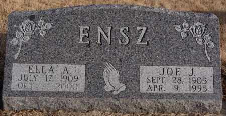 ENSZ, ELLA A - Turner County, South Dakota | ELLA A ENSZ - South Dakota Gravestone Photos