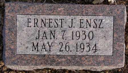 ENSZ, ERNEST J - Turner County, South Dakota | ERNEST J ENSZ - South Dakota Gravestone Photos