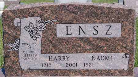 ENSZ, HARRY - Turner County, South Dakota   HARRY ENSZ - South Dakota Gravestone Photos