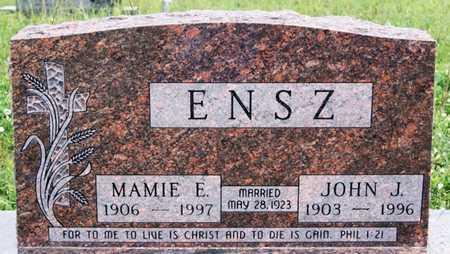 ENSZ, JOHN J - Turner County, South Dakota | JOHN J ENSZ - South Dakota Gravestone Photos