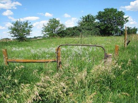 *ENTRANCE, GATE VIEW - Turner County, South Dakota   GATE VIEW *ENTRANCE - South Dakota Gravestone Photos