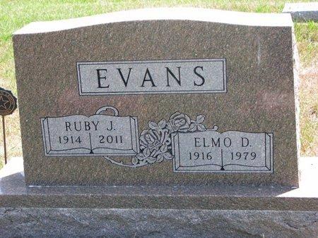 EVANS, RUBY JANE - Turner County, South Dakota   RUBY JANE EVANS - South Dakota Gravestone Photos