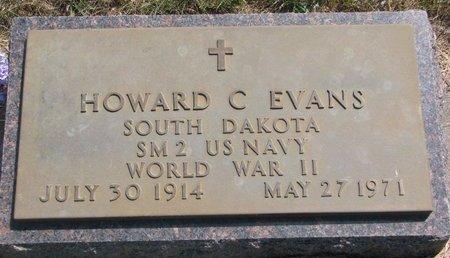 EVANS, HOWARD C. - Turner County, South Dakota | HOWARD C. EVANS - South Dakota Gravestone Photos