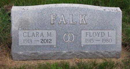 FALK, CLARA M. - Turner County, South Dakota | CLARA M. FALK - South Dakota Gravestone Photos