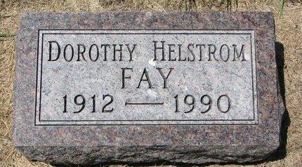 FAY, DOROTHY IRENE - Turner County, South Dakota | DOROTHY IRENE FAY - South Dakota Gravestone Photos