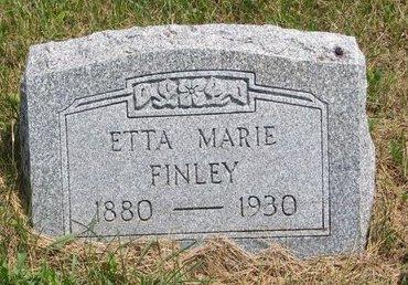 NORGREN FINLEY, ETTA MARIE - Turner County, South Dakota | ETTA MARIE NORGREN FINLEY - South Dakota Gravestone Photos