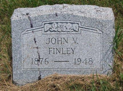 FINLEY, JOHN V. - Turner County, South Dakota   JOHN V. FINLEY - South Dakota Gravestone Photos