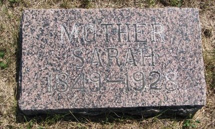FINLEY, SARAH - Turner County, South Dakota | SARAH FINLEY - South Dakota Gravestone Photos