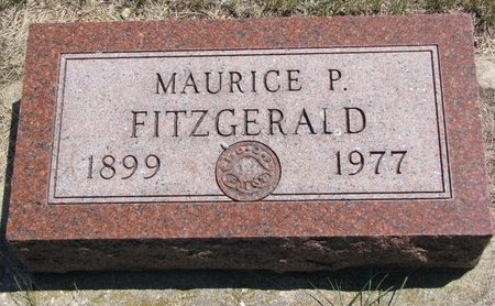 FITZGERALD, MAURICE P. - Turner County, South Dakota   MAURICE P. FITZGERALD - South Dakota Gravestone Photos