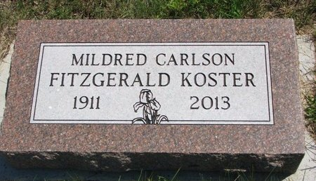 FITZGERALD, MILDRED - Turner County, South Dakota | MILDRED FITZGERALD - South Dakota Gravestone Photos