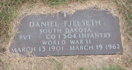FJELSETH, DANIEL - Turner County, South Dakota | DANIEL FJELSETH - South Dakota Gravestone Photos