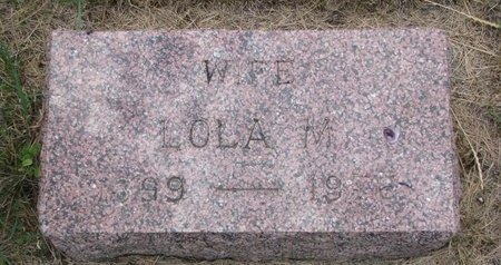 FJELSETH, LOLA M. - Turner County, South Dakota | LOLA M. FJELSETH - South Dakota Gravestone Photos