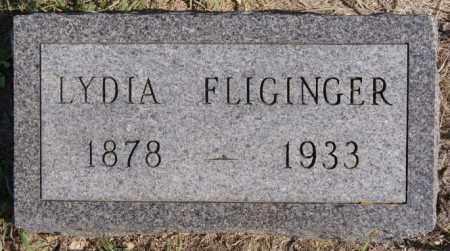 FLIGINGER, LYDIA - Turner County, South Dakota | LYDIA FLIGINGER - South Dakota Gravestone Photos