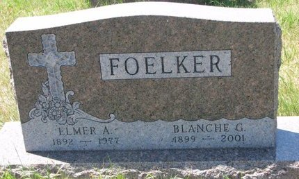 HEMPHILL FOELKER, BLANCHE G. - Turner County, South Dakota | BLANCHE G. HEMPHILL FOELKER - South Dakota Gravestone Photos