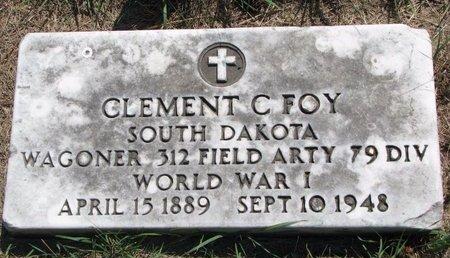 FOY, CLEMENT C. - Turner County, South Dakota | CLEMENT C. FOY - South Dakota Gravestone Photos