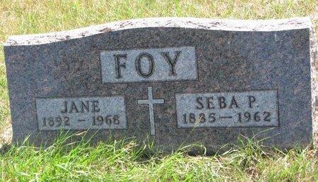 FOY, SEBA P. - Turner County, South Dakota | SEBA P. FOY - South Dakota Gravestone Photos