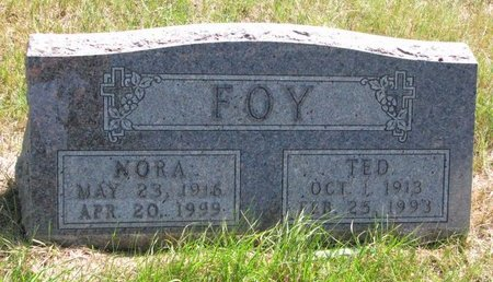 FOY, NORA - Turner County, South Dakota | NORA FOY - South Dakota Gravestone Photos
