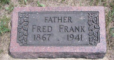 FRANK, FRED - Turner County, South Dakota | FRED FRANK - South Dakota Gravestone Photos