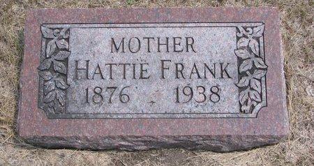 FRANK, HATTIE - Turner County, South Dakota | HATTIE FRANK - South Dakota Gravestone Photos