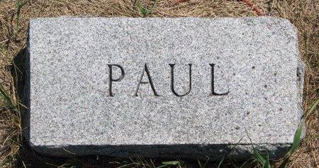 FREEBURN, PAUL (FOOTSTONE) - Turner County, South Dakota   PAUL (FOOTSTONE) FREEBURN - South Dakota Gravestone Photos