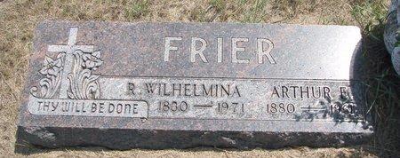 "FRIER, ROSINE WILHELMINA ""MINNIE"" - Turner County, South Dakota | ROSINE WILHELMINA ""MINNIE"" FRIER - South Dakota Gravestone Photos"