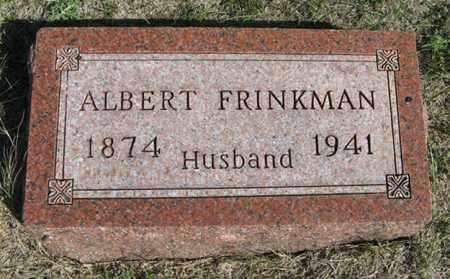 FRINKMAN, ALBERT - Turner County, South Dakota | ALBERT FRINKMAN - South Dakota Gravestone Photos