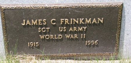 FRINKMAN, JAMES C. (MILITARY) - Turner County, South Dakota | JAMES C. (MILITARY) FRINKMAN - South Dakota Gravestone Photos