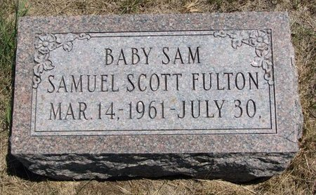 FULTON, SAMUEL SCOTT - Turner County, South Dakota | SAMUEL SCOTT FULTON - South Dakota Gravestone Photos