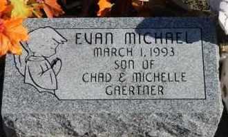 GAERTNER, EVAN MICHAEL - Turner County, South Dakota | EVAN MICHAEL GAERTNER - South Dakota Gravestone Photos
