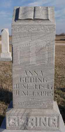 GERING, ANNA - Turner County, South Dakota | ANNA GERING - South Dakota Gravestone Photos