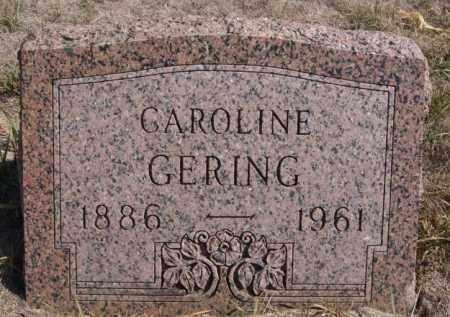 GERING, CAROLINE - Turner County, South Dakota | CAROLINE GERING - South Dakota Gravestone Photos