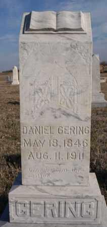 GERING, DANIEL - Turner County, South Dakota | DANIEL GERING - South Dakota Gravestone Photos