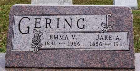 GERING, EMMA V - Turner County, South Dakota | EMMA V GERING - South Dakota Gravestone Photos