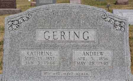 GERING, KATHRINE - Turner County, South Dakota | KATHRINE GERING - South Dakota Gravestone Photos