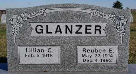 GLANZER, REUBEN E - Turner County, South Dakota | REUBEN E GLANZER - South Dakota Gravestone Photos