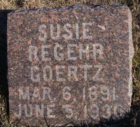 GOERTZ, SUSIE - Turner County, South Dakota | SUSIE GOERTZ - South Dakota Gravestone Photos